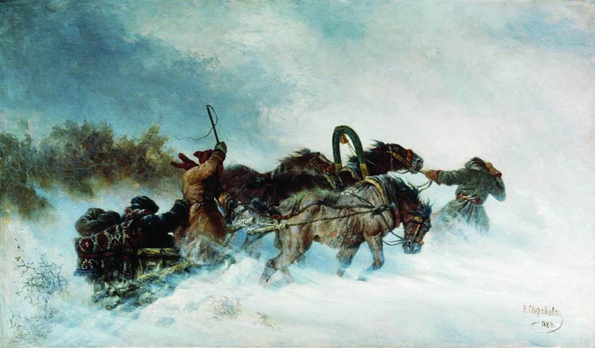 Lumipyry – ja miten vaikea on tajuta mistä on kyse (Tsehov)