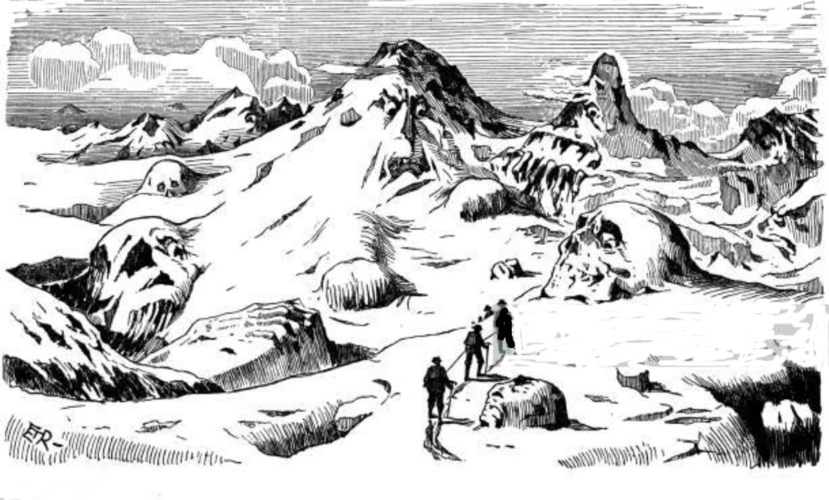 Kun jäävuori oli pahan ilmentymä