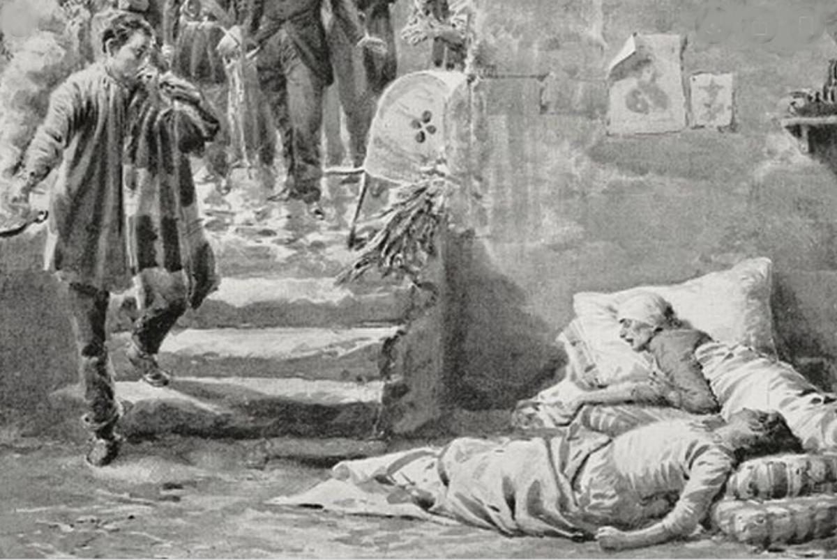 Kolera ja Axel Munthen rohkeus