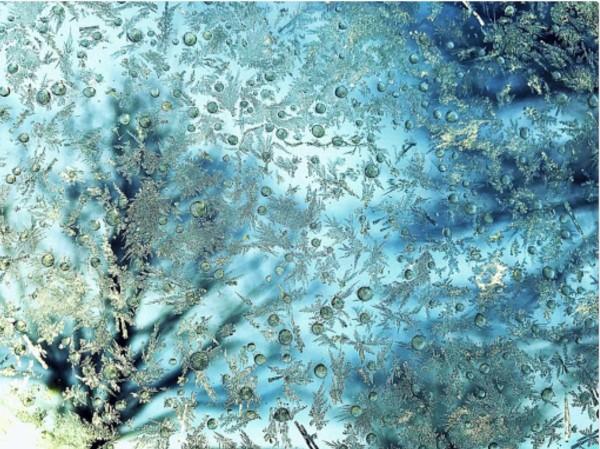 Lumen kimallus ja molekyyli